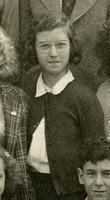 Eighth grade class photograph of Mary Ellen Avery, Moorestown Friends School, Moorestown, NJ.