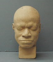 Phrenology cast of head of Eustache Belin, 1838-1842