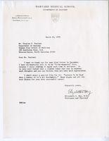 Letter from Elizabeth Hay to Douglas F. Paulsen