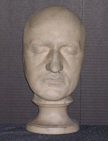 Phrenology cast of face of William Godwin, 1805-1832