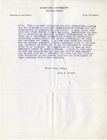 Letter : [Glasgow, Scotland], to Frances G. Lee, Littleton, N.H. Page 01-04.