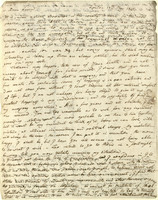 Letter from Johann Gaspar Spurzheim to Honorine Spurzheim
