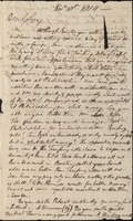 Letter from Benjamin Waterhouse to John Waterhouse