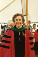 Carola Eisenberg in academic robes