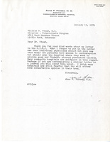 Letter from Anne P. Forbes, M.D. to William W. Stead, M.D.