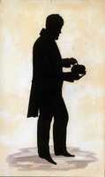 Silhouette of Johann Gaspar Spurzheim