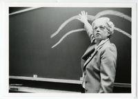 Elizabeth Hay teaching