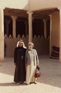 Mary Ellen Avery in Riyadh, Saudi Arabia