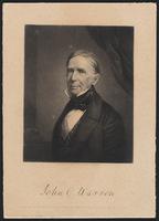 Engraving of John Collins Warren