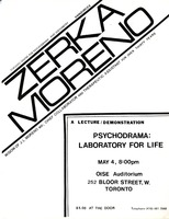 Zerka Moreno: A lecture/demonstration, Psychodrama: Laboratory for Life