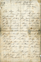 Letter from Florence Nightingale to Mrs. Samsom and information card