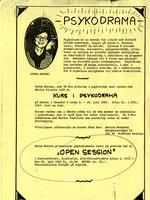 "Psykodrama ""Open Session"""