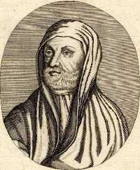 Engraving of Avicenna