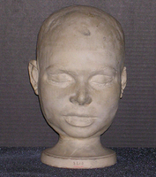 Phrenology cast of head of Catherine Welsh, 1828