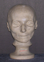 Phrenology cast of head of Anne-Josèphe Théroigne de Méricourt, 1805-1832
