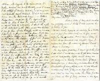 Autograph letter signed : Whitehouse Landing, Va., &lt;br /&gt;<br /> to Fanny [Ware].