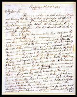 Letter from Benjamin Waterhouse to Edward Jenner
