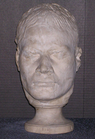 "Phrenology cast of head of ""Owhyhee Teapot"", 1813-1832"