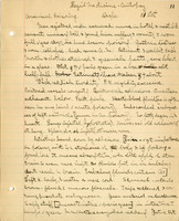 Notes on legal medicine lectures of Frank Winthrop Draper taken by Ralph Clinton Larrabee, October-November 1896.<br />