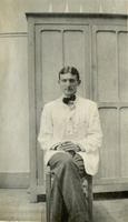 Photograph of Elliott Carr Cutler at the American Ambulance Hospital.