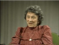Oral history interview with Margaret Brenman-Gibson (video and transcript)